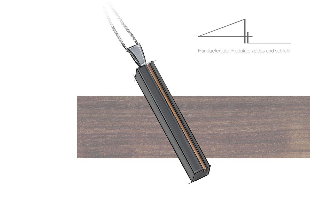 Studio 4L Betonschmuck jetzt gleich doppelt natürlich. Jetzt auch als Kombination mit Holz und Beton erhältlich.
